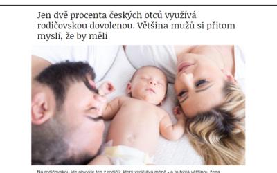 80 % mužů fandí rodičovské pro táty